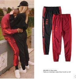 Wholesale Men S Sweatpants Xl - 2017 Kanye west Season4 Style Jogger Top Cotton Pants Calabasas Pablo yeezus Sweatpants Free delivery