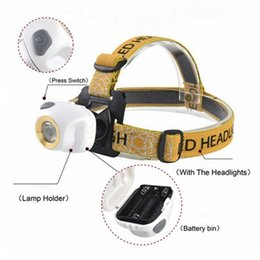 Wholesale Led Headlights For Hunting - AloneFire HP89 Mini Headlamp light Outdoor Headlight Waterproof Head Lamp Lantern For Hunting USE 3xAAA battery