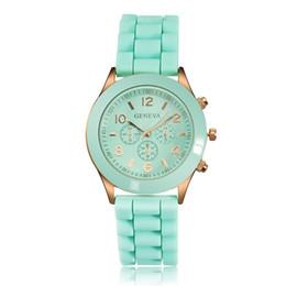 Wholesale Geneva Silicone Watches Price - Promotional Price Geneva Silicone Watches Fashion Jelly Watch Wrap Quartz Casual Wrist Watches Women Girls Ladies Watch