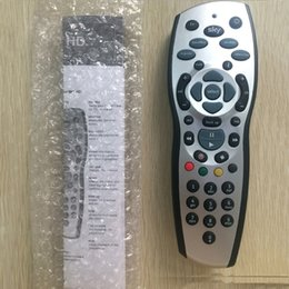 Wholesale Sky Hd Remote - Best quality Sky HD v9 Remote Controlers Universal UK Sky HD+Plus Manual TV Programming Remote Control