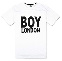 Wholesale Boys Street Dance - Hiphop men's clothing boy london t-shirt hiphop summer short sleeve plus size xxxl o-neck 100% cotton street dance