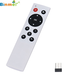 Ценовые клавиатуры онлайн-Wholesale- Factory Price Binmer Simplestone 2.4G Wireless Air Mouse Keyboard Remote Control for PC TV Android TV Box oct25