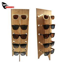 Wholesale Display Stand For Glasses - Wood Sunglass Racks Glasses Display Stand Wood Shelf Stand For Eyewear