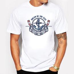 Wholesale Dream Clothing - New Summer T Shirt Men Fashion Printing Dream Of The Seas 1912 Tee Shirts O-neck Tee Casual Short Sleeve Man Clothing