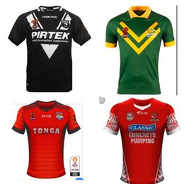 Wholesale Australia Army - 2017 2018 World Cup NRL Jersey rugby shirt Australia rugby Jerseys NRL National Rugby League shirts