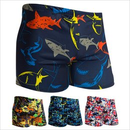 Wholesale Cheap Short Pants Men Wholesale - Wholesale- Man Trunks Short Pants Swimwear Briefs Men Shorts Beach Wear Man Underwear Boys Bathing Suit Cheap Man Swimming Pants UP020