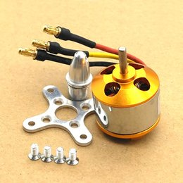 Wholesale Motor Brushless For Aircraft - A2212 Brushless Motor 930KV 1000KV 1400KV 2200KV 2450KV For RC Aircraft Plane Multi-copter Brushless Outrunner Motor
