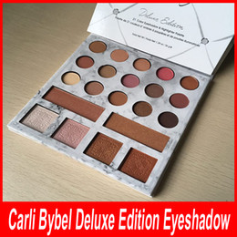 Wholesale Easy Ball - 1pcs 21 color eyeshadow ball, matte, black eye shadow, Carli Bybel Deluxe Edition 21 color eye shadow high compact