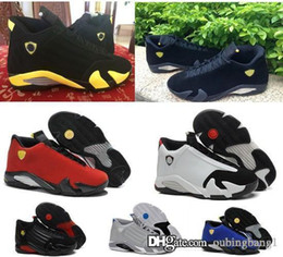 Wholesale Lifestyle Men - Originals Air 14 men retro basketball shoes online real best quality authentic sneakers on sale US size 8-13 free shipping with box