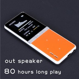 Wholesale Bluetooth Watch Mp4 Player - Wholesale- 2015 Hot New 6 color ONN W7 super-long standby,Sport mp4 player,support exteral TF card and 8GB High quality & Large memory
