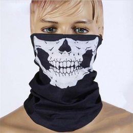 Wholesale Cycling Skull Ski Mask - Skull Face Mask Halloween Magic turban Skull Face Mask Outdoor Sports Warm Ski Caps Cycling Motorcycle