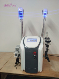 Wholesale Liposuction Vacuum - 6 in 1 ultrasonic cavitation radio frequency skin tightenin fat freeze Fat Freeze liposuction Vacuum Pressure Weight Loss machine for salon
