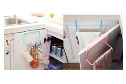 Wholesale Kitchen Cabinet Door Organizer - New Towel Rack Hanging Holder Organizer Bathroom Kitchen Cabinet Cupboard Hanger back door hang racks
