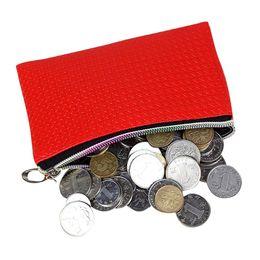 Wholesale leather purses small cheap - Wholesale- Cheap Hot Sale Women Leather Wallet Coin Purse Zipper Clutch Lady Casual Small Purse Key  Holder Handbag Bag
