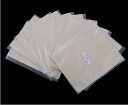 Wholesale Cosmetic Makeup Practice Skins - Wholesale-5pcs tattoo practice skin blank fake skin for tattooing cosmetic tattoo training paper permanent makeup eyebrow 20*15cm