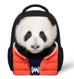 Wholesale Golf Bag Coolers - Cool Children 3D Animal Backpack Men's Rucksack travel sports Bag Boys Girls College Student school bag Bagpack