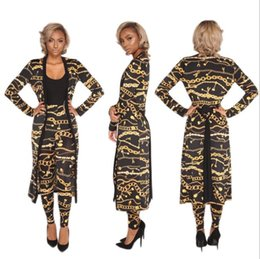 Wholesale V Neck Dresses - 2018 Summer Traditional African Clothing 2 Piece Set Women Africaine Print Dashiki Dress African Clothes