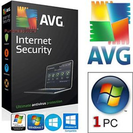 Wholesale Code Windows - AVG Internet Security 2017 2018 240 days Serial Number Key License Activation Code Available to 2018