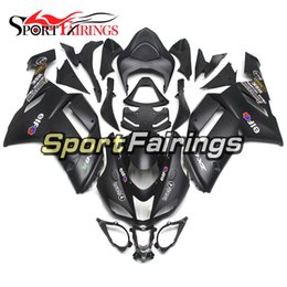 Wholesale Zx6r Frame - Motorcycle Fairing Kit For Kawasaki ZX6R ZX-6R Ninja 636 05 06 2005 2006 ABS Plastics Full Cover Body Frame Cowlings Black Matte Covers