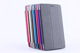 Wholesale huawei tablets inch cases - Wholesale-For HuaWei MediaPad T1 8.0 inch S8-701U S8-701W T1-821w Tablet Ultra Slim Folio PU Leather Case Cover Stand