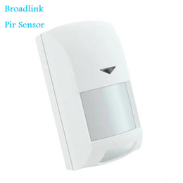 Wholesale Home Anti Theft Alarm System - Wholesale- Broadlink Smart Home PIR Motion Sensor 220V Wireless Intelligent Infrared Anti-theft for Home Security Broadlink S1 Alarm System