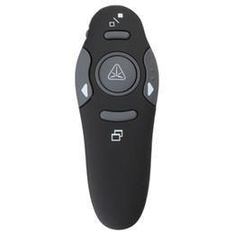 Wholesale Promotion Usb Pen - Wholesale- Promotion Hot Sale 2.4GHz USB 1.1 2.0 Wireless Presenter RF Pointer Pen Remote Control PPT Powerpoint Presentation Mouse