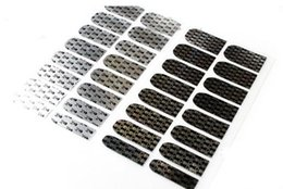 Wholesale Decorative Metal Nails - Explosive Jewelry Nail Sticker 1 Full Metal Nail Decorative Tools European and American style nail decals