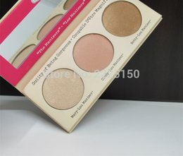 Wholesale Mary Cosmetics - Wholesale-Hot sales 3 Color Pressed cosmetics MARY LOU MANIZER,CINDY LOU MANIZER,BETTY LOU MANIZER Highlighter Pressed Powder