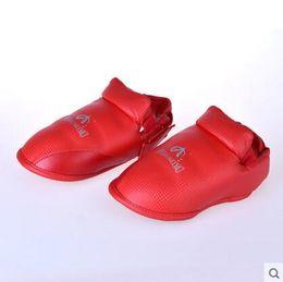 Wholesale Muay Thai Kick Boxing - Breathable Wear-resistant Ankle Support Boxing Foot Protector Sanda MMA Muay Thai Kick Karate Taekwondo Shoes