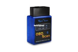 Wholesale Elm 327 Vgate - Wholesale V2.1 Version Super OBD Scan mini elm327 Bluetooth elm 327 OBDII OBD2 Auto Diagnostic intercace Vgate OBD Scan Code Reader for 2017