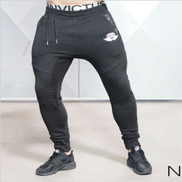 Wholesale Fitness Engineering - Wholesale-2016 new Gold Medal Fitness pants, stretch cotton mens fitness pants pants body engineers Jogger Fitness