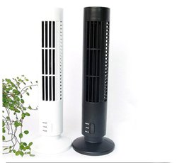 Wholesale Air Conditioning Controls - Mini USB Fan Air Conditioning fan Office  Household Appliances Tower Fan Desktop Dual Bladeless Portable FANS