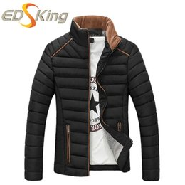 Wholesale Dress Parka - Wholesale- Men Parka Mens Winter Jackets Down 2016 Duck Male Top And Dress Coat Brand Clothing Veste Homme Hiver Abrigos Hombres Invierno