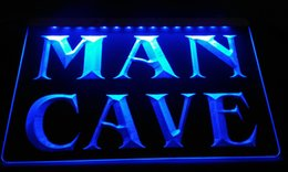 Wholesale Free Wedding Decor - LS2312-b Man Cave Neon Light Sign Decor Free Shipping Dropshipping Wholesale 6 colors to choose