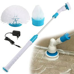 Wholesale Mop Brush Cleaning - Spin Turbo Scrub Bathtub Brush Power Cleaner Bathtub Tiles Power Floor Cleaner Brush Mop Scrubs Clean