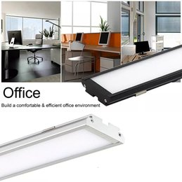 Wholesale Office Led Panel Lights - New Batten Led Panel Lights 25W 4ft 1.2m Surface Mounted led panel ceiling lights office lighting ac 110-240v