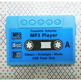 Wholesale Red Tape Sale - Wholesale- Hot Sale 1pcs lot High quality mini Tape MP3 Player support Micro SD(TF) card 5 colors Free shipping(only mp3)