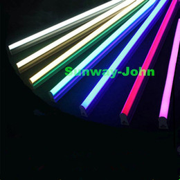 Wholesale Purple Nature - Indoor decoration led T5 integrated tube light lamp 4 foot 18W 1149mm SMD 2835 red blue green purple warm nature cool white