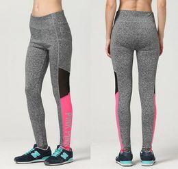 Wholesale Wholesale Tights For Ladies - VS Love Pink Women Yoga Pants Sexy Women Yoga Pants Sexy Tights Trousers Fitness Leggings for Ladies Girl KKA2999