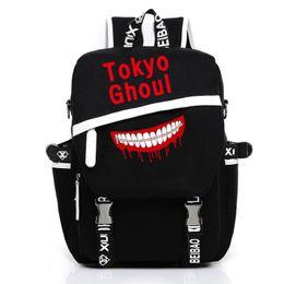 Borse da cartone anime online-Zaino cosplay Kukucos Borsa Anime Zaino Anime Tokyo Ghoul Kaneki Ken Zaino luminoso Satchel