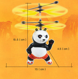Wholesale Infrared Carbon - Flying Toys Infrared Induction Hand Control Helicopter Quadcopter Ball Hovering Floating Panda Pikachu Doraemon Flashing Ball #1