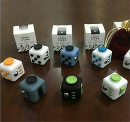 Xmas Best Gift Novelty Fidget Cube Toy Stress Relief Focus For Adults and Children Decompression Anxiety Toys with retail package Coupon