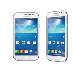 Dúos de samsung online-Samsung Galaxy Grand Duos i9082 restaurado 5.0 pulgadas Smartphone 1GB RAM 8GB ROM Dual SIM 8.0MP WiFi GPS WCDMA 3G Unlocked Cellphone
