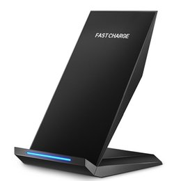 Wholesale Note Wireless Charge - Fast Wireless Charger, Pasonomi Tilt Wireless Charging Stand for Samsung Galaxy S7 S7 Edge S6 Edge Plus Note 5 and All QI-Enable