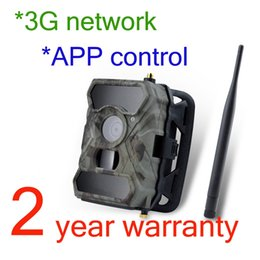 Wholesale Covert Surveillance Cameras - Willfine 3.0CG 3G Network Covert Wildlife Surveillance Hunting Game Cameras 3G App Scouting Wild Cameras 3G Hunter Tree Cameras with APP