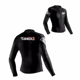 Wholesale Slinx Wetsuit - Slinx 5mm Neoprene Scuba Dive Clothing Snorkeling Jacket Wetsuit Top Coat High Elastic Spearfishing Kite Surf Windsurf Swimwear