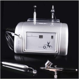 Wholesale Oxygen Machines - Free Shipping Facial Oxygen Infusion Spraying Deep Cleaning Oxygen Injection Skin Rejuvenation Machine