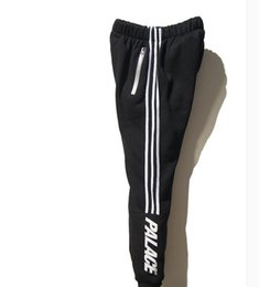 Wholesale Hip Hop Man Pants - Wholesale-Palace Skateboards Sport Pants Hip Hop Union Kanye 3M Reflective JOGGER High Quality Fashion Triangle Palacio Autumn Sweatpants