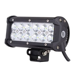 Wholesale Making Light Work - hot product double row bottom bracket 7inch 36w led spot work light made in China factory for offroad truck 4x4