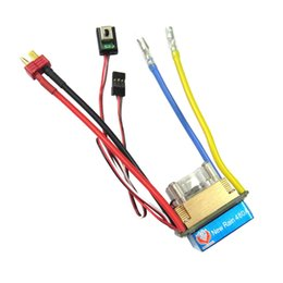 Wholesale Esc Brush Rc - 480A 3-Modes Brushed Speed Controller ESC T for 1 10 RC Car By Rock Crawler